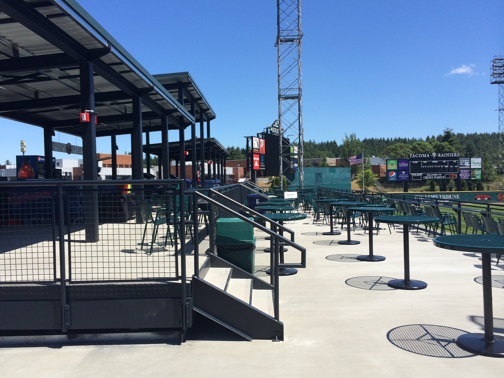 Scp Is A Home Run For Parties At Cheney Stadium Spray
